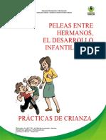 PELEAS ENTRE HERMANOS,, EL DESARROLLO INFANTIL Y LAS PRACTICAS DE CRIANZA