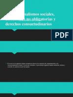 CONVENCIONALISMOS SOCIALES