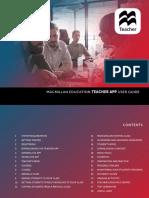 Macmillan Education Teacher App User Guide EN