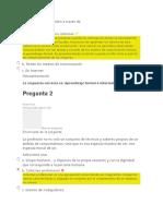 evaluacion unidad 2 etica profesional