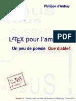 LaTeX pour l'amateur