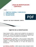 OBJETIVOS Y JUSTIFICACION(2018)MI