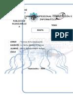 MAPA SEMANTICO DE LA COMUNICACION