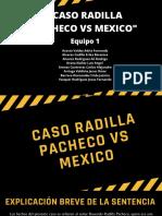 CASO RADILLA PACHECO VS MEXICO