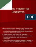 De que mueren los Uruguayos