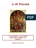 Sete di Parola - XXXI Settimana T.O. - A.doc