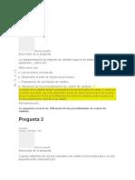 Evaluación Unidad 3- Aseguramiento de la calidad