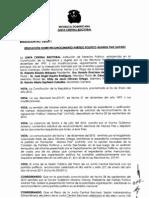 Resolución Reconocimiento Alianza País (ALPAIS)