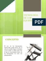 TECNOLOGIA DE LOS EQUIPOS