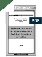 MODELO CALIDAD ACREDITACION MEDICINA 251109