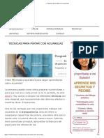 ▷ Técnicas para pintar con acuarelas.pdf