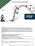 planificacion unidad didactica 1° año Nivel Medio.docx