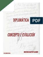 Diplomática concepto y evolución