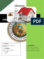 DERECHO DE PROPIEDAD INTELECTUAL grupo COMERCIAL