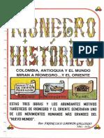 Libro RIONEGRO HISTORICO