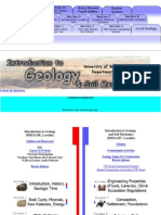 WISCONSIN UNIV. - Introduction to Geology and Soil Mechanics