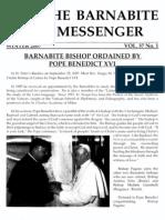 The Barnabite Messenger Vol.37 No.1 - Winter 2007