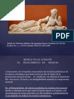 Renacimiento Francia Mus. Vocal