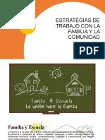 Estratégias de Trabajo Con La Familia y La