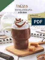 Recetario Chocolate a la taza LACASA