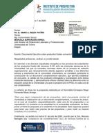 Documento Ejecutivo sobre productos finales convenio No 02 de 2019.