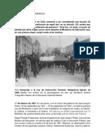 Hitos de La Historia Del MINEDUC