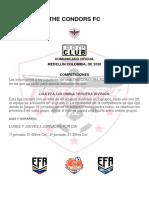 competiciones the condors fc