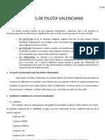 APUNTS DE PILOTA VALENCIANA val