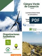 Camara Verde de Comercio - Servicios y Beneficios a Emprendimientos e Innovaciones en Empresas & Tarifas - Jun 2020
