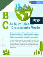 ABC de la Politica de Crecimiento Verde en Colombia