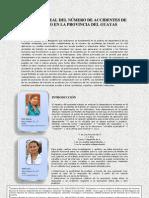 Analisis Lineal Del Nmero de Accidentes en La Provincia Del Guayas... PDF