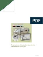 Programmes Incubation Standard