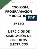 Cuaderno de Ejercicios de Simulación de Circuitos Eléctricos Con Crocodile
