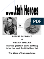 william wallace vs robert the bruce