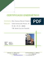 Certificado energético.
