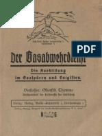 Der Gasabwehrdienst - Die Ausbildung im Gasspüren und Engiften - NALFAG