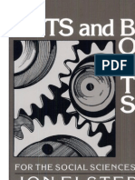 Elster, J., Nuts & Bolts for the Social Sciences
