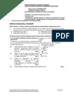 Varianta 8 - Subiecte informatica intensiv Pascal Bacalaureat 2008