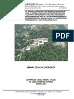 MEMORIA DE CALCULO   HIDRAULICO - Bloque 21 Unipacifico.docx