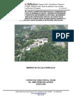 MEMORIA DE CALCULO   HIDRAULICO - Bloque 21 Unipacifico