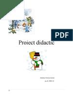 Proiect didactic gradi gr mica