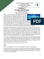 prob-F-Encrypt and Decrypt