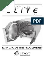 Manual autoclave Bioart