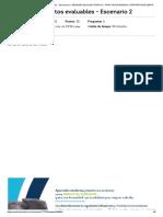 Actividad de Puntos Evaluables - Finanzas Corporativas - Escenario 2