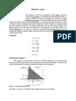 Module 4 - Fluid Statics
