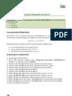 I Numeri Naturali Con Excel