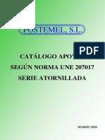 02 CATALOGO(TIPO 2)-30 KV-UNE 207017 ATORNILLADOS V032010