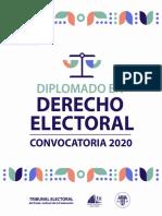 Convocatoria derecho electoral