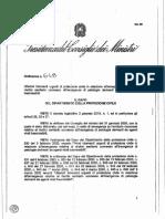 Protezione civile ord. 9 marzo 2020 n. 648