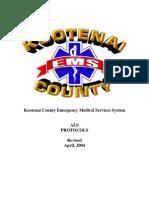 Kootenai Co (ID) Protocols (2004)